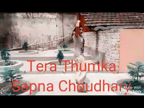 Tera Thumka Sapna Choudhary / Dance Video Tanisha Das