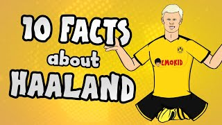 This week the Onefootball. 442oons show brings you 10 facts about Erling Haaland you NEED to know! Discover everything about the Dortmund striker including his footballing family, his role model Zlatan Ibrahimovic, his Premier League ambitions and the records he has SMASHED!   ► Liked the video? Let us know by subscribing to our channel: http://bit.ly/SubscribeToOnefootball ► Liked it a lot? Download our app: http://bit.ly/2GeDHEK Onefootball is the world's most comprehensive football app and is available free on iOS, Android and Windows Phone!  ► Check our website: https://www.onefootball.com/en ► Like us on Facebook: http://bit.ly/1YpT8ud ► Follow us on Twitter: http://bit.ly/2lDcoK8 ► Follow us on Instagram: http://bit.ly/1U7uYQh ► Listen to the Onefootball podcast: http://bit.ly/2617W55  Photo credits: Getty