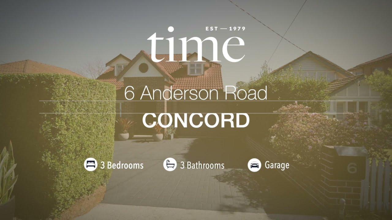6 Anderson Road, Concord NSW