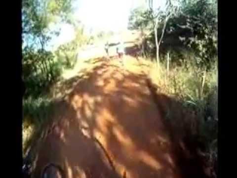 trilhas de bike em Indiara go