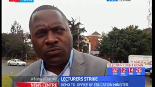 Lecturers wants the CBA fully implemented