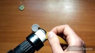 Как убрать царапины с шпули катушки