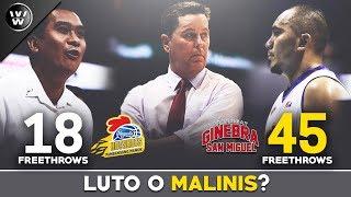 Luto, Bigay o Malinis? | Game 3 ng PBA Semis | Ginebra vs Magnolia