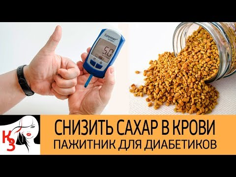 Как снизить сахар в крови. Пажитник для диабетиков. Рецепты применения