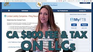 Do I have to pay $800 for CA LLC? (What if I only made a little money?)
