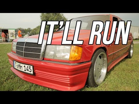 It'll Run - Rodney Nichols' LS Swapped 1984 Mercedes Benz - Holley LS Fest