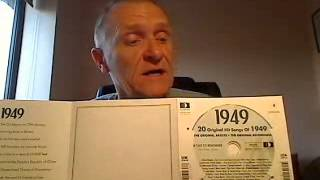 69th Birthday Gift - 1949 Compilation CD and 1949 Year Greeting Card Review