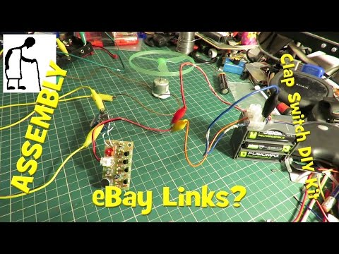 Assembling Electronic Clap Switch DIY Kit – eBay Links