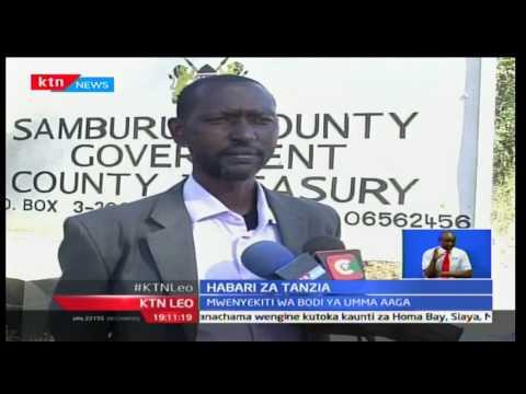 KTN Leo: Bernard Saidimu aliyekuwa mwenyekiti wa bodi ya Samburu aaga dunia