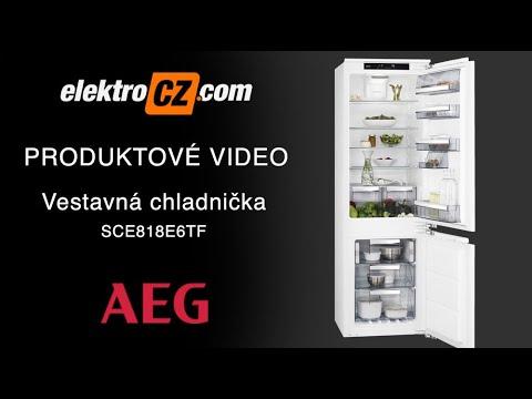 Vestavná chladnička AEG SCE818E6TF