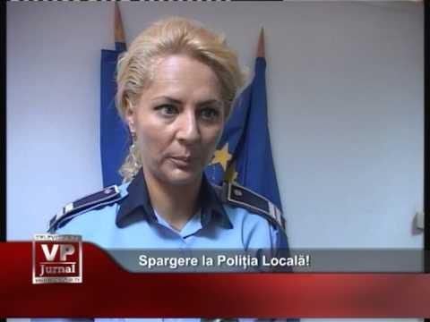 Spargere la Poliția Locală!