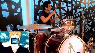 Aqua timez - Mask - (Drum cover) - Bleach ending 30 - ブリーチ - Chukio