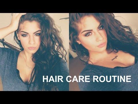 Video Curly/Wavy Hair Care Routine+Tips♡|Nazaninxox