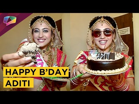 Aditi Sharma Aka Meera Celebrates Her Birthday W