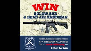 GET IN THE NFAFA DRAWING BEFORE IT'S TOO LATE!! Ends 12/1/17!