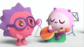 Малышарики -  Музыка - серия 146 - Обучающие мультфильмы для малышей - день рождения