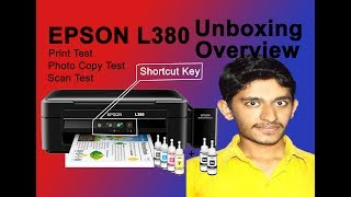 Epson L380 Unboxing Review Best Budget All in One Printer in
