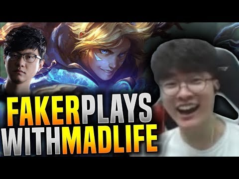 Faker Duo with Madlife! (Faker Ezreal ft Madlife Janna) - SKT T1 Faker Plays Ezreal ADC! | SKT T1