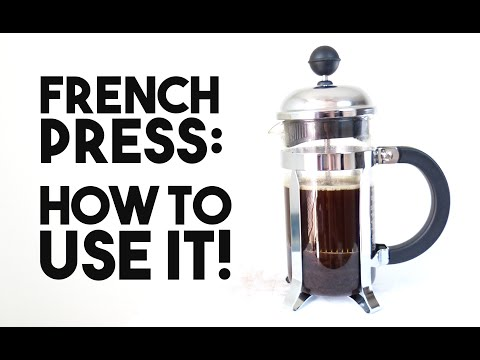 French Press: How To Use It!