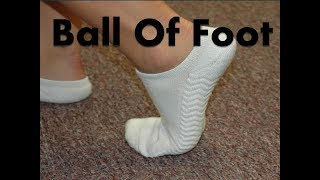 Ball of the Foot Pain [Home Treatment & Cure]