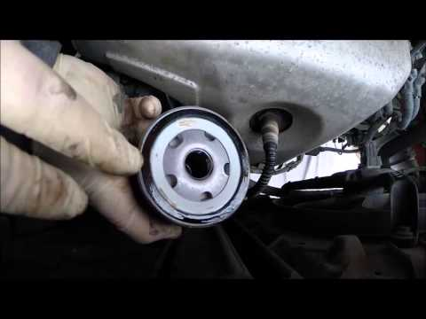 Фото к видео: VW Lupo 1 0 i Engine oil and filter replacment