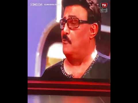 تأثر وبكاء دنيا أثناء تسلم درعي تكريم سمير غانم ودلال عبدالعزيز في المهرجان القومي للمسرح