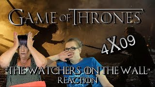 "Game Of Thrones 4x09 ""The Watchers on the Wall"" Reaction"