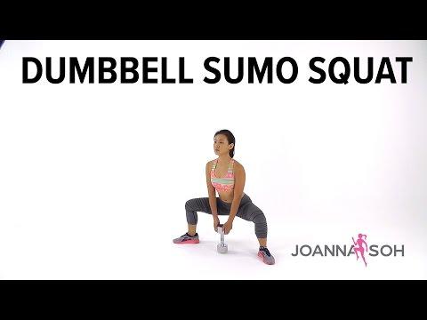 Dumbbell Sumo Squats