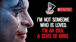 15 most powerful Motivational || Joker Quotes || Attitude Quotes || BLOODY QUOTES