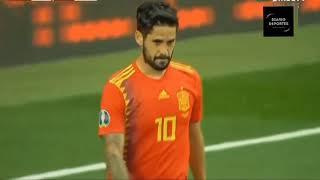 Resumen partido (España vs Suecia) ⚽⚽
