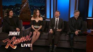 The Cast of Star Wars: The Last Jedi Talk Kylo Ren, Jedi Controversy, Harrison Ford & Secrets