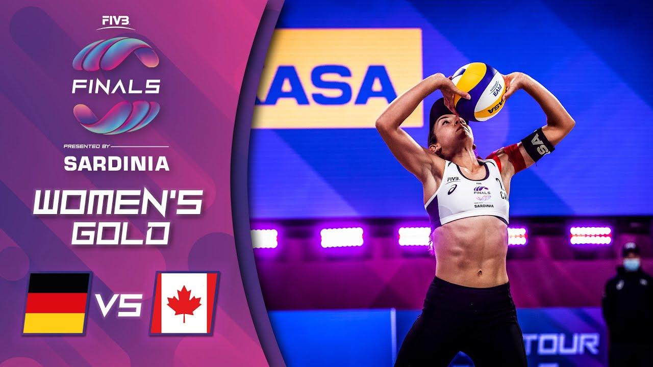 10.10.2021, 20:30 Uhr: World Tour Finals 2021 – Finale Pavan/Melissa (CAN) vs. Borger/Sude (GER)