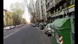 Via di Santa Croce in Gerusalemme - Doppia fila selvaggia