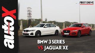 BMW 3 Series VS Jaguar XE Comparison Video