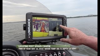 Fish locator tips for summertime Crappie!