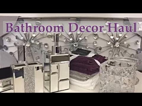 Mini Bathroom Decor Haul plus Shop With Me - Marshalls & Home Goods