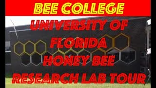 Beekeeping diary #5: University of Florida Bee College Tour