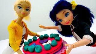 Хлоя и Маринетт – Чей десерт лучше? - Игрушки Леди Баг.
