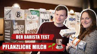 Der vegane Barista-Milch Test | Wir vergleichen Oatly, alpro & Co.