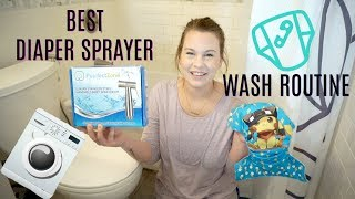 Purrfect Zone Diaper Sprayer & Cloth Diaper Wash Routine