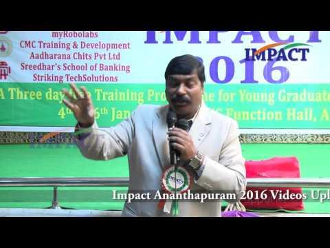 Goal|Gampa Nageshwer Rao| TELUGU IMPACT Anantapur 2016