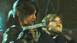 Rise Of The Tomb Raider - Ending + Secret Ending (Prophet, Ana, Konstantin Death Scene) - dooclip.me