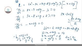 ECONOMICS HONOURS MATHEMATICAL ECONOMICS PAST YEAR SOLUTIONS TO BSC(I) 3