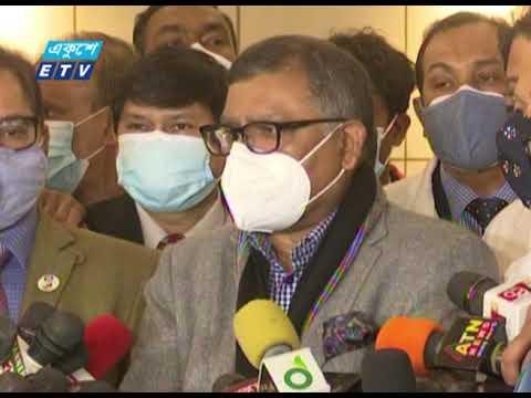 গুজবে কান না দিয়ে সবাইকে ভ্যাকসিন নেয়ার আহ্বান স্বাস্থ্যমন্ত্রীর | ETV News