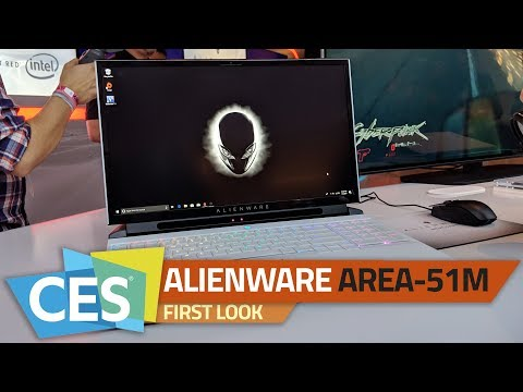 Dell Alienware Area-51m Gaming Laptop with Upgradeable CPU and GPU