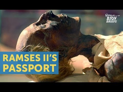 Ramses II: The Mummy Who Had To Get A Passport