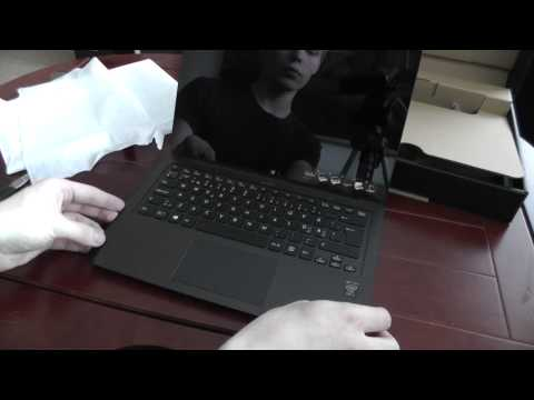 Sony Vaio Fit Multi-Flip Unboxing