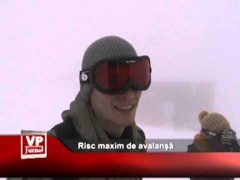 Risc maxim de avalanșă