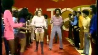 Soul Train Line Dance to Aretha Franklin  Rock Steady