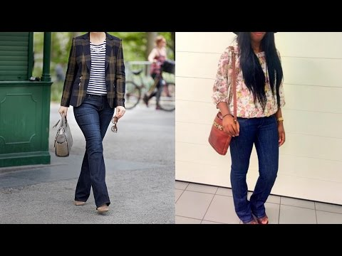Womens Bootcut Jeans - 20 Style Tips On How To Wear Bootcut Jeans For Women